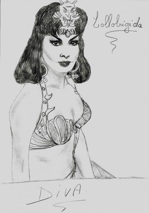 Gina Lollobrigida por isabella1988